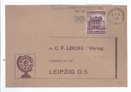 Frankatur  1941  Von Osnabrück Nach Leipzig   - (89963) - Privatpost