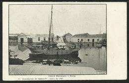 ARGENTINA: Inundacion De SANTA FÉ - Calle Belgrano Y Rioja - Junio De 1905 - Argentina