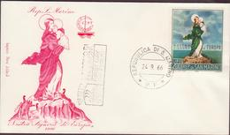 ENVELOPPE TIMBRE  1966  EUROPA  NOSTRA SIGNORD DI EUROPA  VOIR PHOTO - FDC