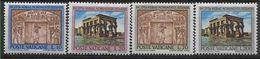 1964 VATICAN 397-400 ** Egyptologie, Nubie - Ungebraucht