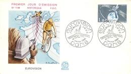 PREMIER JOUR D'EMISSION F.D.C. N°1148 12/01/1980 EUROVISION - FDC