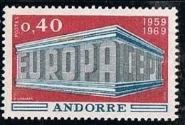 ANDORRE Y&T N° 194 Europa 0.40 1966 - NEUF Sans Charnière - Frans-Andorra