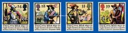 GREAT BRITAIN 1992 CIVIL WAR ANNIVERSARY U.M. S.G. 1620-1623   N.S.C. - 1952-.... (Elizabeth II)