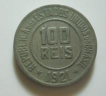 Brazil 100 Reis 1921 - Brasil