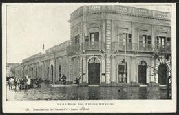 ARGENTINA: Inundacion De SANTA FÉ - Calle Rioja - Esq. Avenida Rivadavia - Junio De 1905 - Argentina