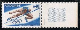 ANDORRE Y&T N° 190 Jeux Olympiques Mexico 1968 - NEUF Sans Charnière - Frans-Andorra
