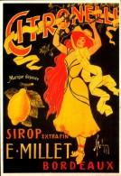 Publicité  -  Citronelli - Sirop Extra Fin E. Millet - Bordeaux - Malzac - Repro - SC73-5 - Werbepostkarten