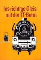 Catalogue Berliner TT Bahn 1971 Ins Richtige Gleis Mit Der TT-Bahn DDR - Books And Magazines