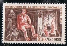 ANDORRE Y&T N°183 Sécurité Sociale 1967 - NEUF Sans Charnière - Frans-Andorra