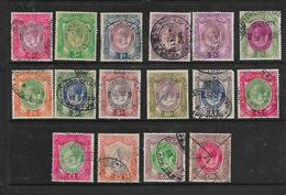 S.Africa, GVR Revenue Stamps 16 Values 3d To £10, Used - Zuid-Afrika (...-1961)