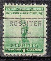 USA Precancel Vorausentwertung Preo, Locals Pennsylvania, Rossiter 729 - Vereinigte Staaten