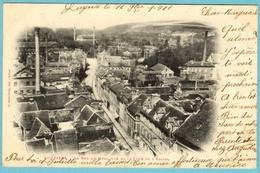 CPA  27 LOUVIERS Rue Du Quai 1901 - Louviers