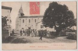 CPA 31 SALEICH Sortie De L' Eglise - France