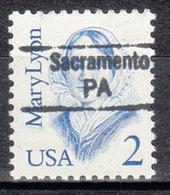 USA Precancel Vorausentwertung Preo, Locals Pennsylvania, Sacramento 842,5 - Vereinigte Staaten