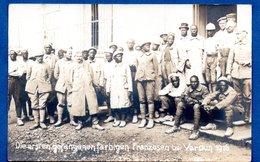 Verdun  - Soldats Français Coloniaux Prisonnier Des Allemands 1916 - Verdun