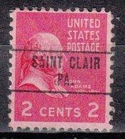 USA Precancel Vorausentwertung Preo, Locals Pennsylvania, Saint Clair 748 - Vereinigte Staaten