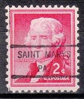 USA Precancel Vorausentwertung Preo, Locals Pennsylvania, Saint Marys 825 - Vereinigte Staaten