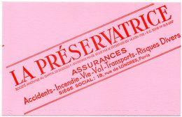 Buvard Assurance La Préservatrice. - Vloeipapier