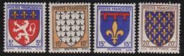 France   .    Yvert    572/575        .    **   .   Neuf  SANS Charniere  .   /   .    MNH - France