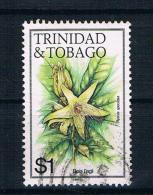 Trinidad & Tobago Blumen 1989 Mi. Nr. 489VII Gestempelt - Trinidad & Tobago (1962-...)
