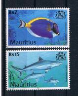 Mauritius 2000 Fische Mi. Nr. 914/17 Gestempelt - Mauritius (1968-...)