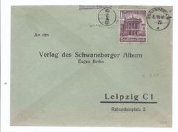 Frankatur - Gelaufen 1940 Von Osnabrück Nach Leipzig   -  (89999-20) - Privatpost