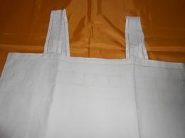 Chemise Ancienne Coton Blanc - Joli Haut à Jours -Taille Intéressante - - 1900-1940