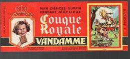 Choisy Le Roi : Buvard COUQUE ROYALE VANDAMME N°1 (PPP8753) - Blotters