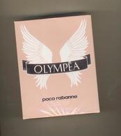 Parfum Femme OLYMPEA De Paco Rabanne    80 Ml  ( Eau De Parfum  ) Neuf Sous Cello - Parfum (neuf Sous Emballage)