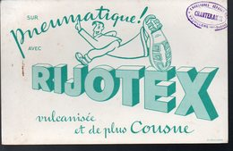 Vauvilliers (71 Haute Saône)  Buvard RIJOTEX  (PPP8754) - Buvards, Protège-cahiers Illustrés