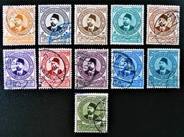 ROYAUME - 10 EME CONGRES DE L'U.P.U 1934 - NEUFS ** - YT 155/65 - MI 191/01 - Egypt