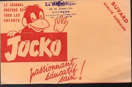 Buvard JOCKO (PPP8755) - Buvards, Protège-cahiers Illustrés