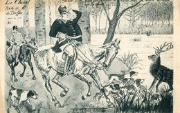 CHASSE A COURRE(VENERIE) CHEVAL - Chasse