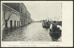 ARGENTINA: Inundacion De SANTA FÉ - Calle San Luis (Norte) - Fundicion Cerana - Junio De 1905 - Argentine