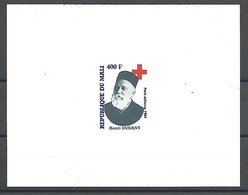MALI  PA 483 FEUILLET DE LUXE - Dunant, Croix-Rouge  -1984 - Henry Dunant