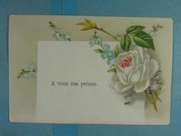 Mignonette A Vous Ma Pensée - Fleurs