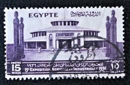 ROYAUME - PALAIS DE L'INDUSTRIE 1936 - OBLITERE - YT 182 - MI 211 - Egypt