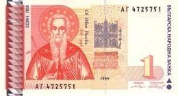 BULGARIE 1 ЛЕВ (LEV) 1999 P-114a NEUF [BG114a] - Bulgarie
