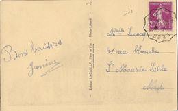 CONVOYEUR LENS DOUAI NORD CPA HENIN LIETARD - Postmark Collection (Covers)