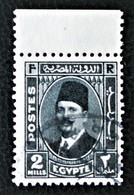 ROYAUME - ROI FOUAD 1ER 1936/37 - OBLITERE - YT 173 - HAUT DE FEUILLE - Egypt
