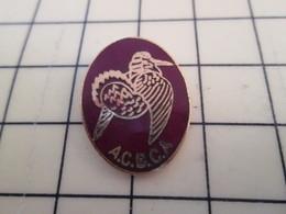 Pin1717 Pin's Pins / Beau Et Rare / THEME ANIMAUX : OISEAU GIBIER ASSOCIATION DE CHASSE ACBCA - Animals