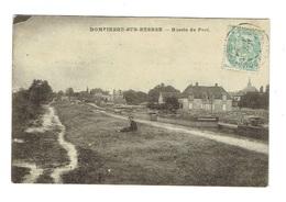 ALLIER 03 DOMPIERRE SUR BESBRE Bassin Du Port Plan Peu Courant - France