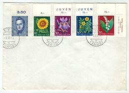 Suisse // Schweiz // Switzerland  // Pro-Juventute // 1961 Lettre 1er Jour Rivaz Du 01.12.1961 - Lettres & Documents