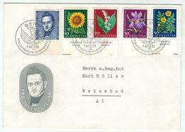 Suisse // Schweiz // Switzerland  // Pro-Juventute // 1961 Lettre 1er Jour Du 01.12.1961 - Lettres & Documents