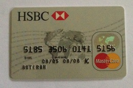 Indonesie Kredietkaart - Indonesia Creditcard (MASTERCARD HSBC BANK) Used - Credit Cards (Exp. Date Min. 10 Years)