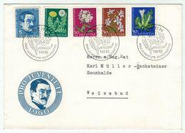Suisse // Schweiz // Switzerland  // Pro-Juventute // 1960 Lettre 1er Jour Du 01.12.1960 - Lettres & Documents