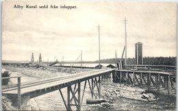SUEDE -- Alby Kanal Sedd Fran Inloppet - Suède