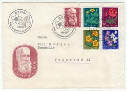 Suisse // Schweiz // Switzerland  // Pro-Juventute // 1959 Lettre 1er Jour Du 01.12.1959 - Lettres & Documents