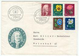 Suisse // Schweiz // Switzerland  // Pro-Juventute // 1958 Lettre 1er Jour Du 01.12.1958 - Lettres & Documents