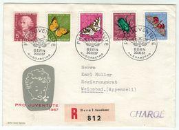Suisse // Schweiz // Switzerland  // Pro-Juventute // 1957 Lettre 1er Jour Du 01.12.1957 - Pro Juventute